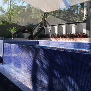 Sanctum Swimming Pool and Landscape design Caniaba Crescent Suffolk Park Byron Bay